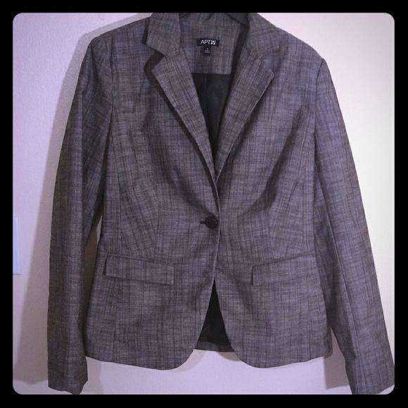 Apt. 9 Jackets & Blazers - Gray Blazer